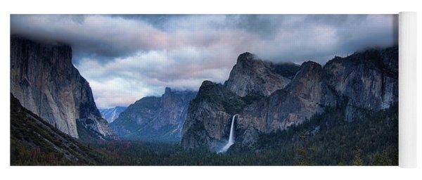Yosemite Valley  Yoga Mat