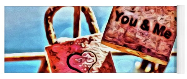 You And Me Yoga Mat