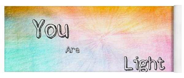 You Are Light Yoga Mat