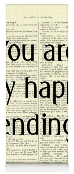 You Are My Happy Ending Yoga Mat