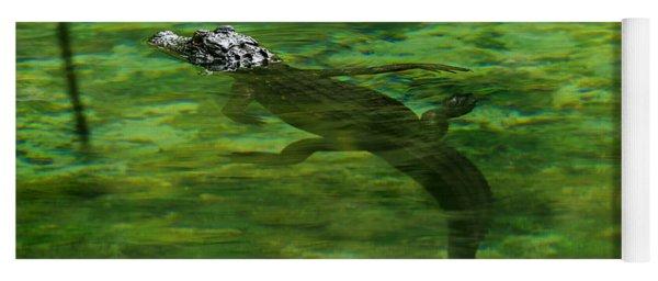 Young Alligator Yoga Mat