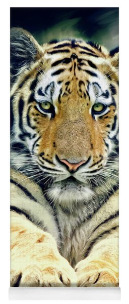 Young Tiger Yoga Mat