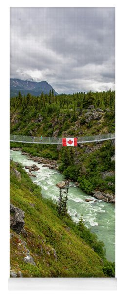 Yukon Suspension Bridge Yoga Mat