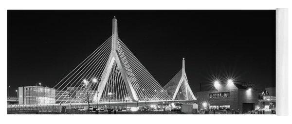 Zakim Bridge From Lovejoy Wharf Yoga Mat