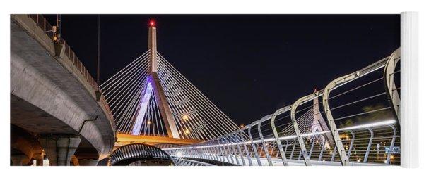 Zakim Bridge Walkway Yoga Mat