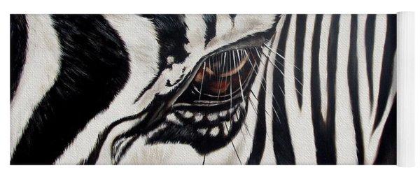 Zebra Eye Yoga Mat