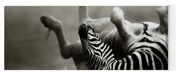 Zebra Rolling Yoga Mat