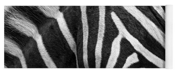 Zebra Stripes Yoga Mat