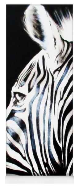 Zebra Yoga Mat