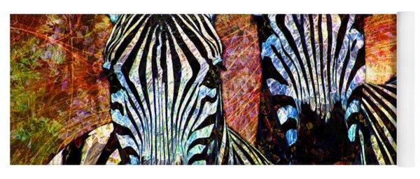 Zebras Yoga Mat