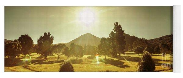 Zeehan Golf Course Yoga Mat