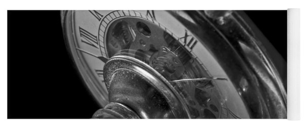 Zeitdruck Time Pressure Yoga Mat