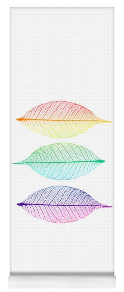Zen Leaves Yoga Mat