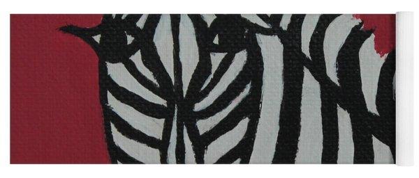 Zena Zebra Yoga Mat