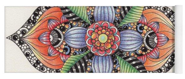 Zendala Template #1 Yoga Mat
