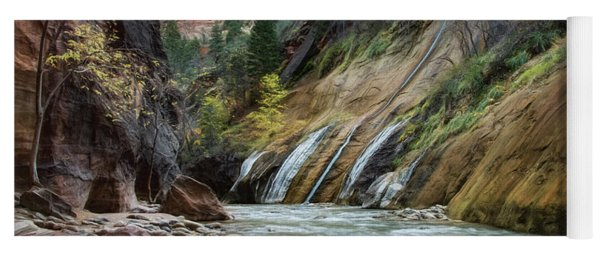 Zion Canyon Yoga Mat
