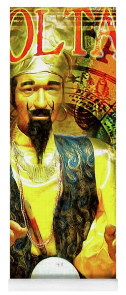 Zoltar Speaks Fortune Teller 20161108v3 Yoga Mat