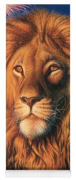 Zoofari Poster The Lion Yoga Mat