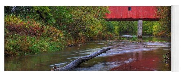 Zumbrota Minnesota Historic Covered Bridge 5 Yoga Mat