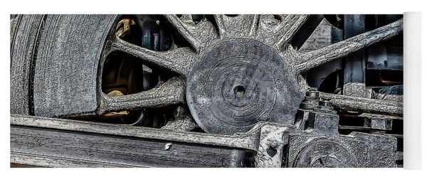 062 - Locomotive Wheel Yoga Mat