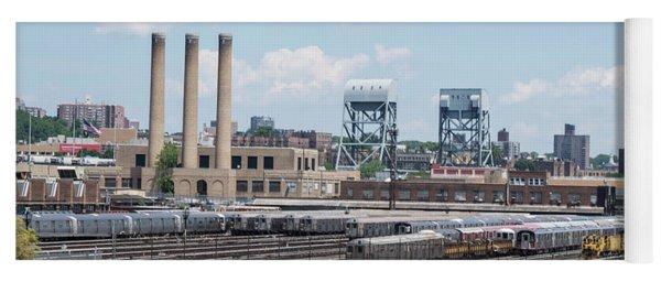 207th Street Railyards Yoga Mat