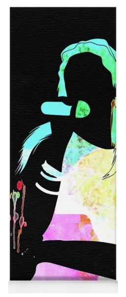 Aaliyah Watercolor Yoga Mat