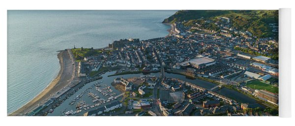Aberystwyth From The Air Yoga Mat