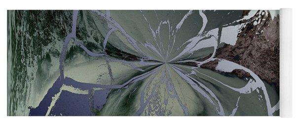 Abstract Bloom Yoga Mat