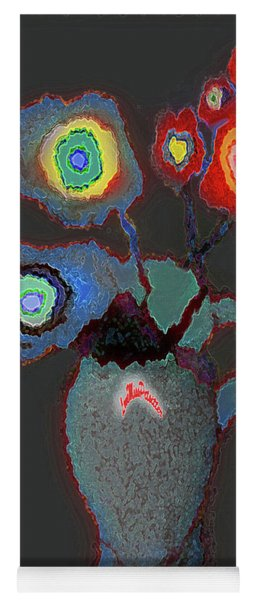 Abstract Floral Art 356 Yoga Mat