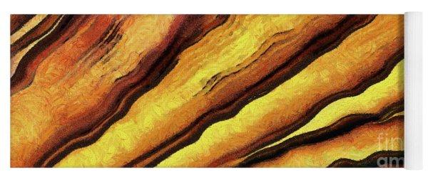 Abstract Paint Yoga Mat