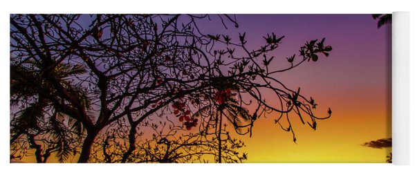 After Sunset Colors Yoga Mat