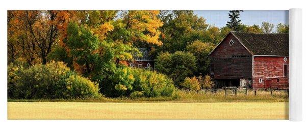 Autumn Barn Yoga Mat