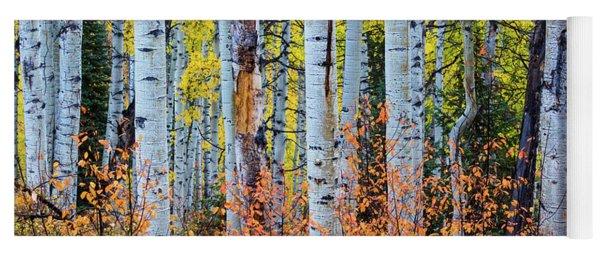 Autumn In Color Yoga Mat
