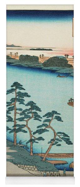 Autumn Niijuku Ferry, 19th Century Yoga Mat