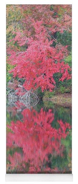 Autumn Pink Yoga Mat