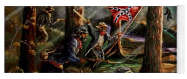 Battle Of Chancellorsville - The Wilderness Yoga Mat