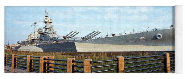 Battleship North Carolina Yoga Mat