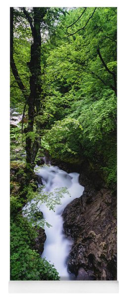 Bela River, Balkan Mountain Yoga Mat