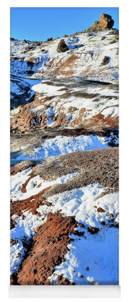 Bentonite Dunes Of Ruby Mountain Yoga Mat