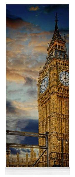 Big Ben London City Yoga Mat