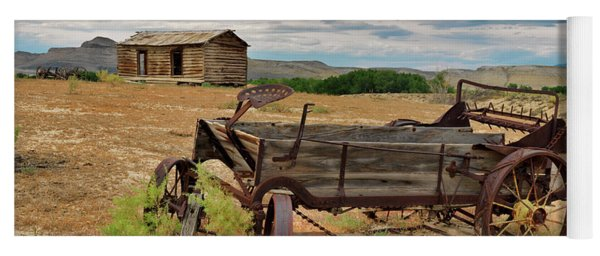 Bighorn Basin History Yoga Mat