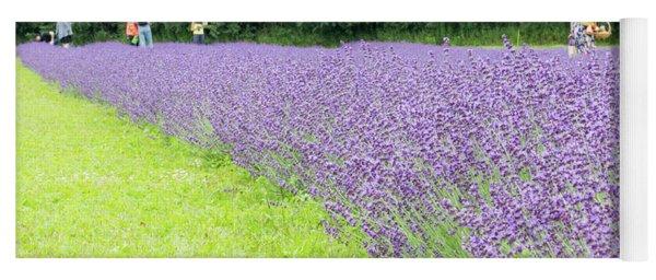 Blue Lavender Yoga Mat