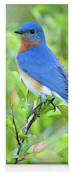 Bluebird Joy Yoga Mat