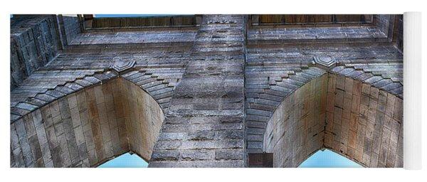 Brooklyn Bridge Tower Yoga Mat