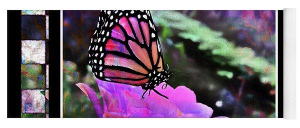 Butterflies Are Free  Yoga Mat
