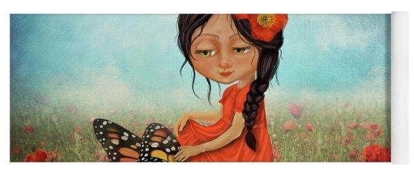 Butterfly Whisperer Yoga Mat