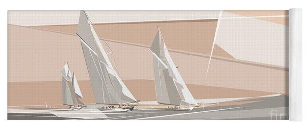 C-class Yachts  Yoga Mat