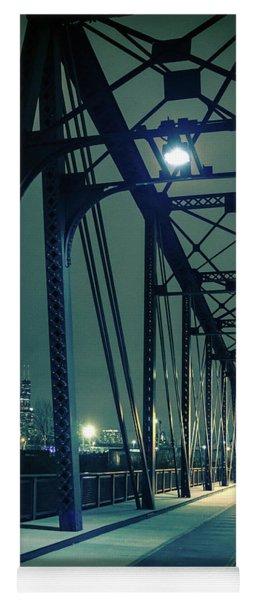 Chicago Railroad Bridge Yoga Mat