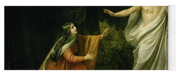 Christ's Appearance To Mary Magdalene After The Resurrection Yoga Mat
