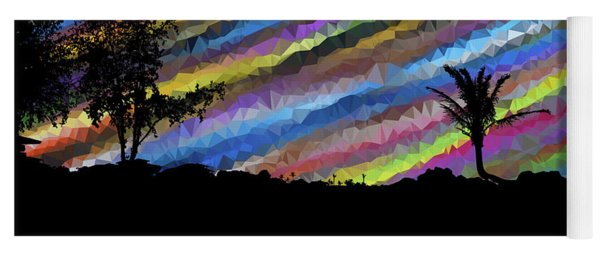 Colorful Forest Yoga Mat